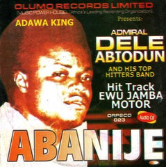CD - Dele Abiodun - Abanije - Audio CD