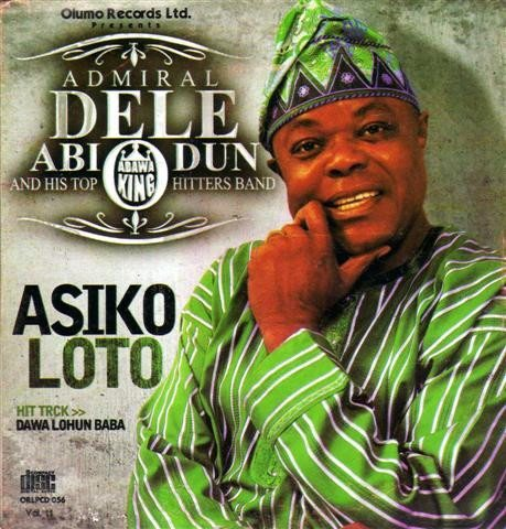 Dele Abiodun - Asiko Loto - Audio CD