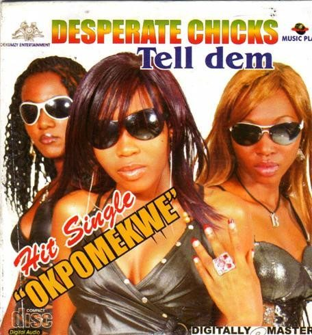 Desperate Chicks - Tell Dem - CD
