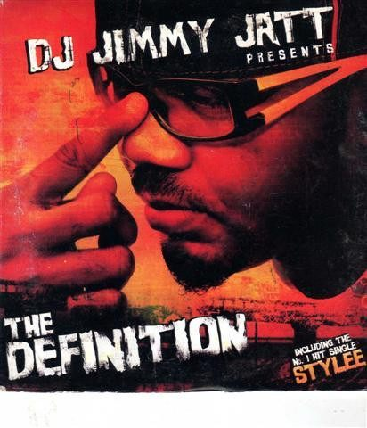 CD - DJ Jimmy Jatt - The Definition - CD