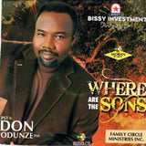 CD - Don Odunze - Where Are The Sons - CD