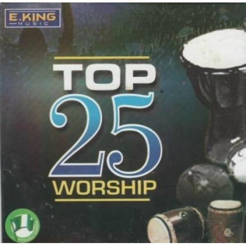 CD - E King Music - 25 Top Worship - CD