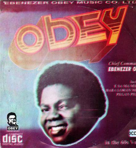 Ebenezer Obey - Commander Obey - Audio CD