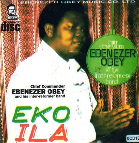 CD - Ebenezer Obey - Eko Ila - Audio CD
