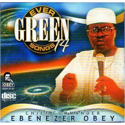 Ebenezer Obey - Evergreen Vol 14 - CD - African Music Buy