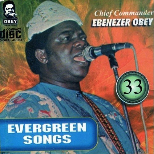 CD - Ebenezer Obey - Evergreen Vol 33 - CD