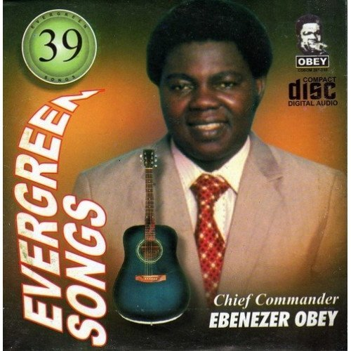 CD - Ebenezer Obey - Evergreen Vol 39 - CD