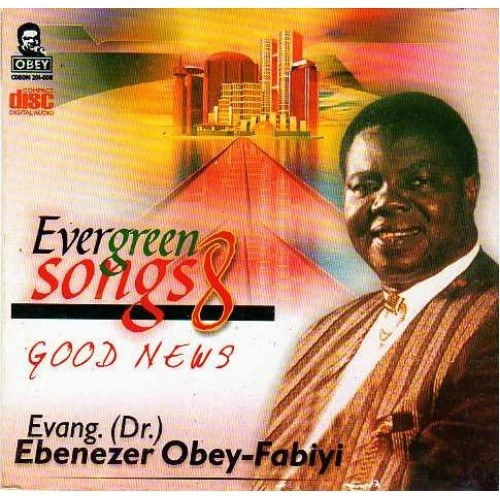CD - Ebenezer Obey - Evergreen Vol 8 - CD