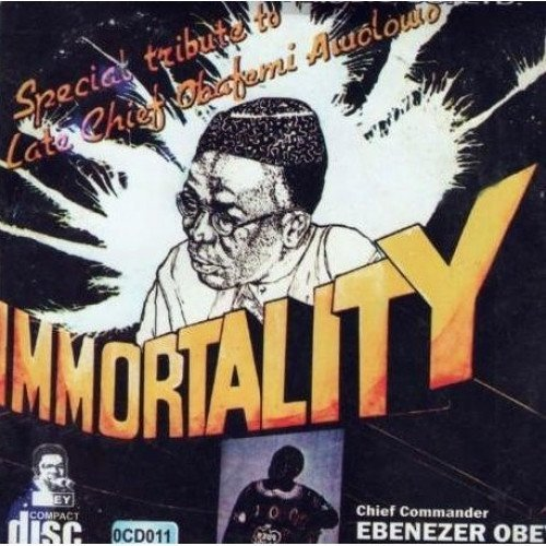 CD - Ebenezer Obey - Immortality - Audio CD