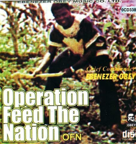 CD - Ebenezer Obey - Operation Feed The Nation - CD