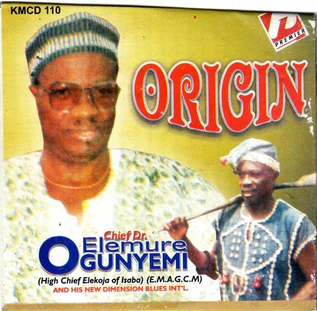 Elemure Ogunyemi - Origin - CD
