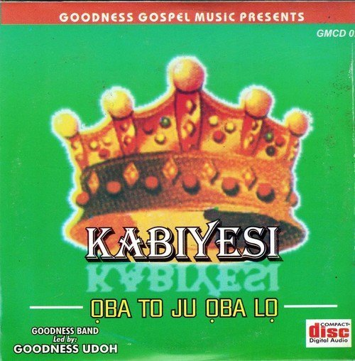 CD - Goodness Band - Kabiyesi - CD