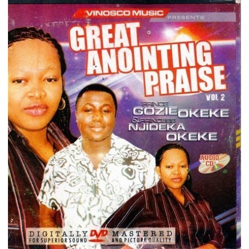 Gozie Okeke - Great Anointing Praise 2 - CD - African Music Buy