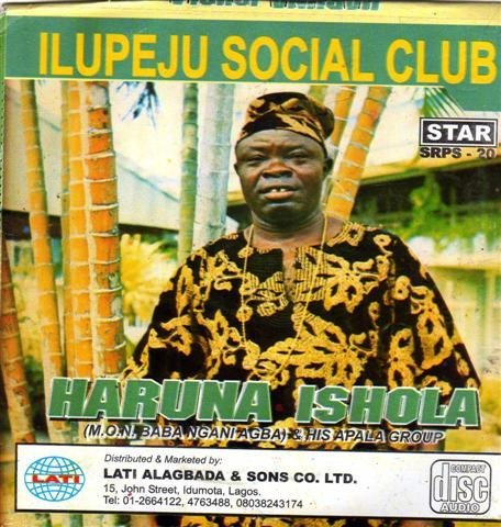 Haruna Ishola - Ilupeju Social Club - CD - African Music Buy