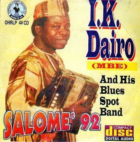 CD - Ik Dairo - Salome 92 - CD