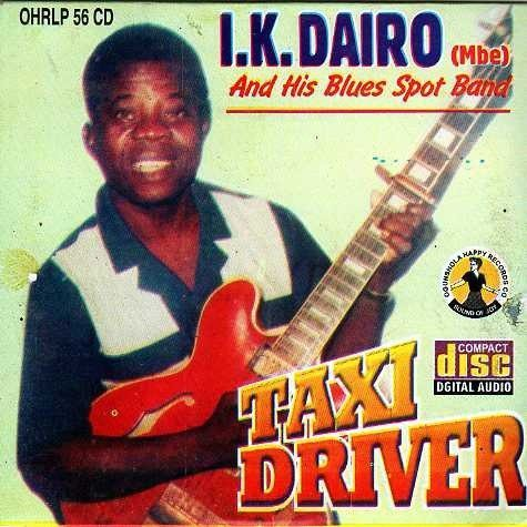 Ik Dairo - Taxi Driver - Audio CD