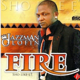 CD - Jazzman Olofin - Fire - CD