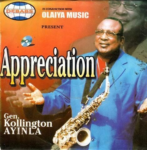 Kollington Ayinla - Appreciation - CD