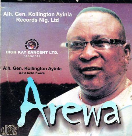 Kollington Ayinla - Arewa - Audio CD