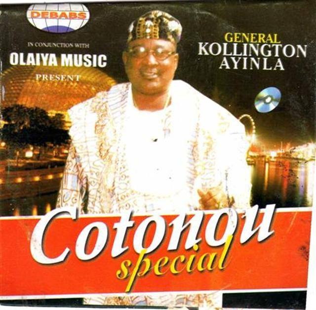 CD - Kollington Ayinla - Cotonou Special - CD