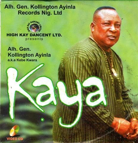 Kollington Ayinla - Kaya - Video CD