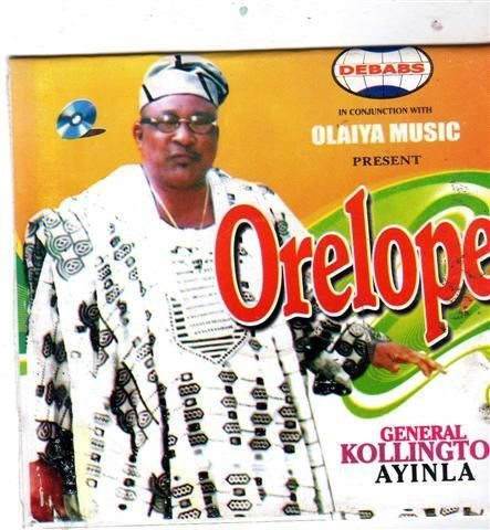 Kollington Ayinla - Orelope - Audio CD