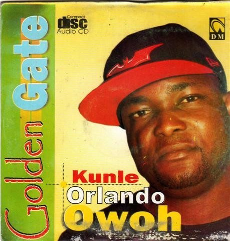 CD - Kunle Orlando Owoh - Golden Gate - CD