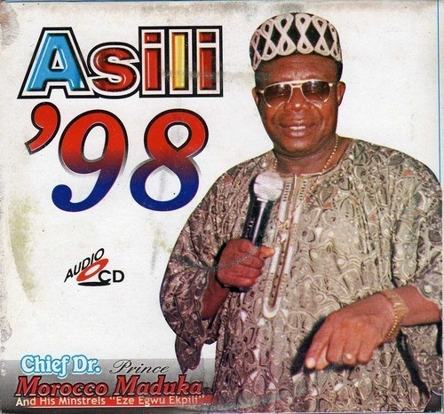 CD - Morocco Maduka - Asili '98 - Audio CD