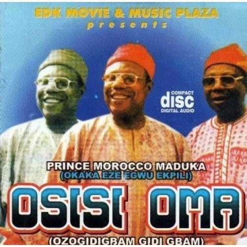 CD - Morocco Maduka - Osisi Oma - Audio CD