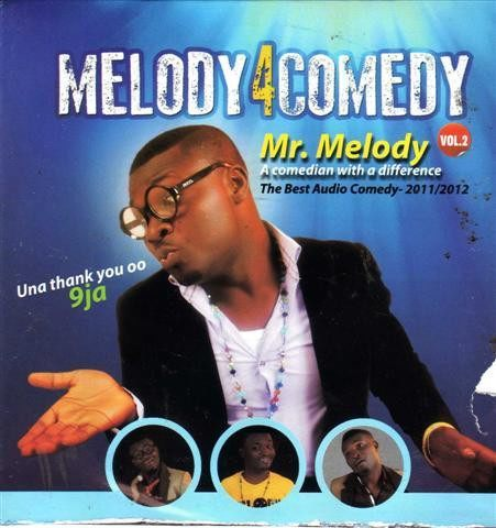 Mr Melody - Melody 4 comedy Vol 2 - CD - African Music Buy