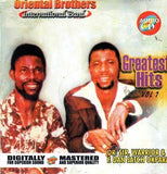 CD - Oriental Brothers - Greatest Hits - CD