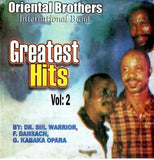 CD - Oriental Brothers - Greatest Hits Vol 2 - CD