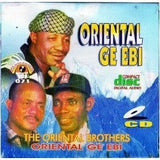 CD - Oriental Brothers  - Oriental Ga Ebi - CD
