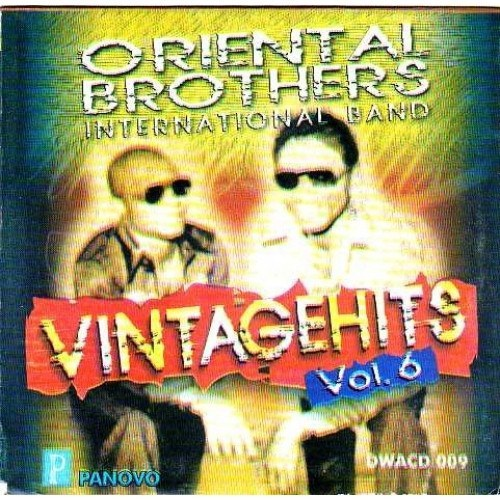 Oriental Brothers  - Vintage Hits Vol.6 - CD