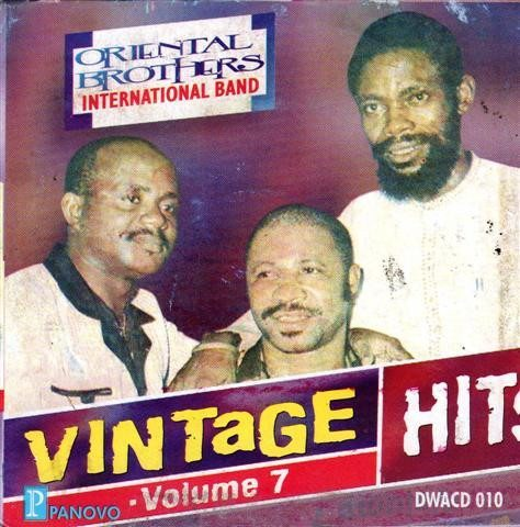 CD - Oriental Brothers - Vintage Hits Vol.7 - CD