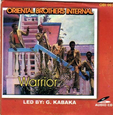 CD - Oriental Brothers - Warrior Murtala - CD