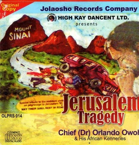 Orlando Owoh - Jerusalem Tragedy - CD