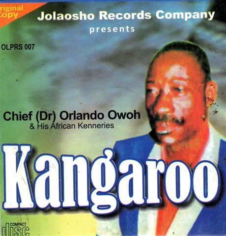 Orlando Owoh - Kangaroo - Audio CD