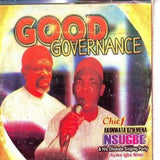 CD - Ozoemena Nsugbe - Good Governance - CD