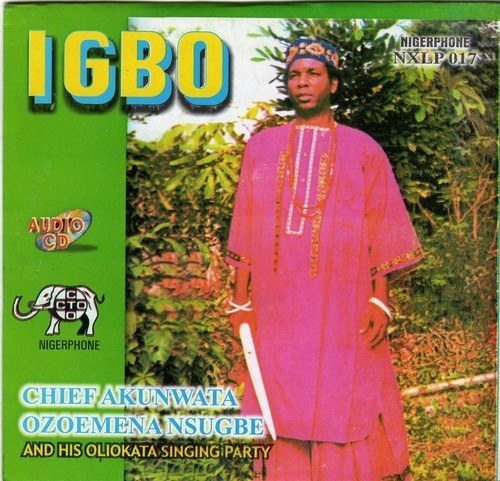 CD - Ozoemena Nsugbe - Igbo - Audio CD
