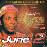 Ozoemena Nsugbe - June 12 - CD - African Music Buy
