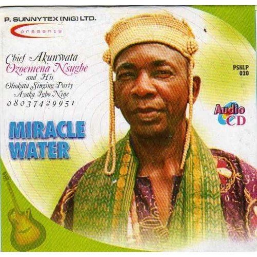 CD - Ozoemena Nsugbe - Miracle Water - CD