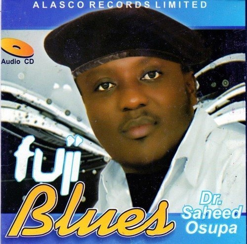 Saheed Osupa - Fuji Blues - Audio CD
