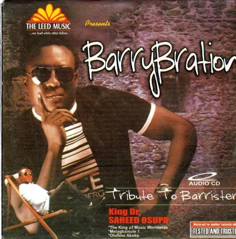 Saheed Osupa - Tribute To Barrister - CD