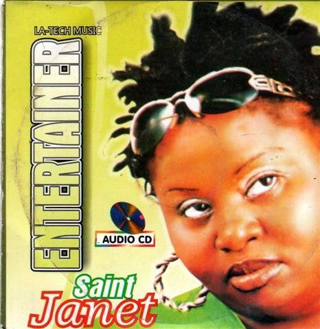 CD - Saint Janet - Entertainer - Audio CD