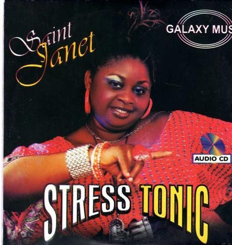 Saint Janet - Stress Tonic - Audio CD