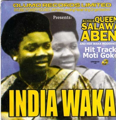 CD - Salawa Abeni - India Waka - Audio CD