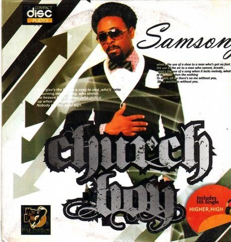 Samsong - Church Boy - Audio CD