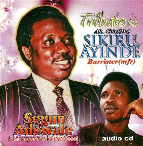 CD - Segun Adewale - Tribute To Ayinde Barrister - CD