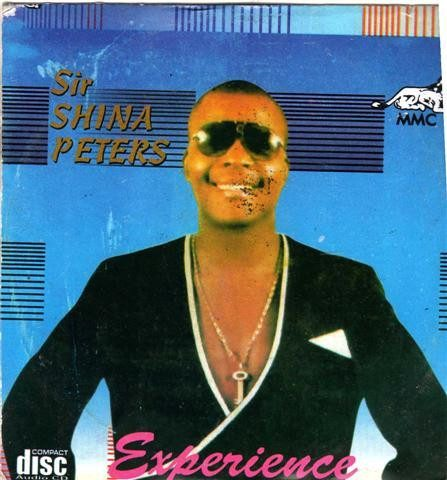 CD - Shina Peters - Experience - Audio CD